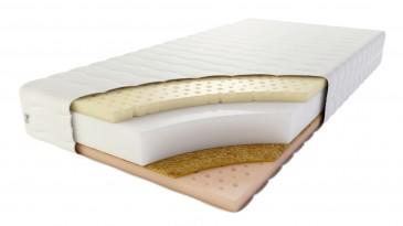 Materac PALERMO KOKOS -  pianowy z lateksem termo i 7 strefowym oraz kokosem